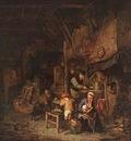 OSTADE Adriaen Jansz van Interior With A Peasant Family