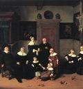 OSTADE Adriaen Jansz van Portrait Of A Family