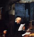 Ostade Adriaen Jansz Van Lawyer In His Study