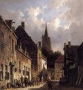 A Dutch Street Scene