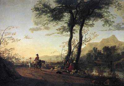 CUYP Aelbert A Road Near A River