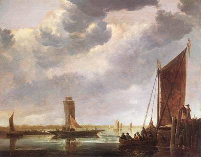 CUYP Aelbert The Ferry Boat