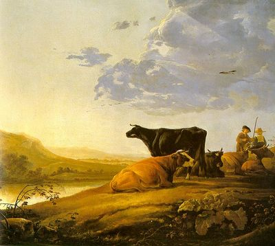 CUYP Aelbert Young Herdsman With Cows