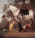CUYP Aelbert Grey Horse In A Landscape