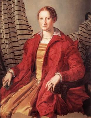 BRONZINO Agnolo Portrait Of A Lady