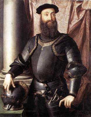 Bronzino Portrait of Stefano IV Colonna