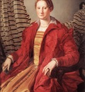 BRONZINO Agnolo Portrait Of A Lady