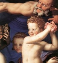 Bronzino Venus Cupide and the Time detail