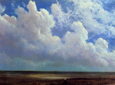 Bierstadt Albert Beach Scene
