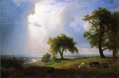 Bierstadt Albert California Spring