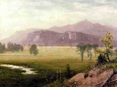Bierstadt Albert Conway Meadows New Hampshire