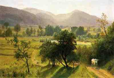 Bierstadt Albert Conway Valley New Hampshire