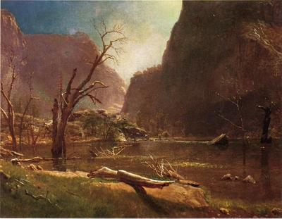 Bierstadt Albert Hatch Hatchy Valley Califrnia