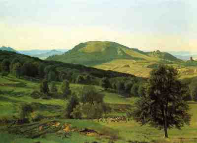 Bierstadt Albert Hill and Dale