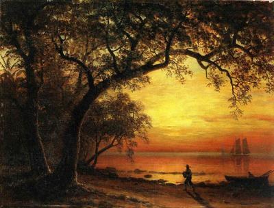 Bierstadt Albert Island of New Providence