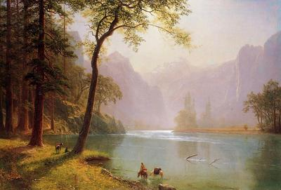 Bierstadt Albert Kern s River Valley California
