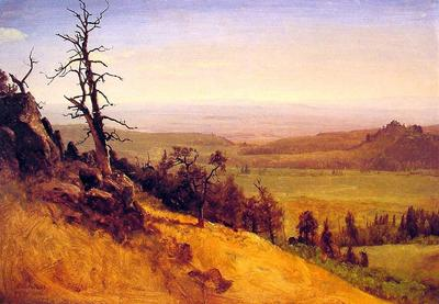Bierstadt Albert Nebraska Wasatch Mountains