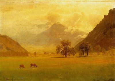 Bierstadt Albert Rhone Valley