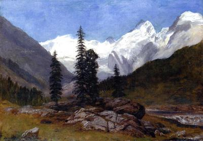 Bierstadt Albert Rocky Mountain