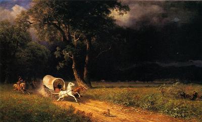 Bierstadt Albert The Ambush