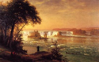 Bierstadt Albert The Falls of St  Anthony