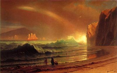 Bierstadt Albert The Golden Gate