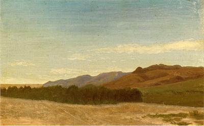 Bierstadt Albert The Plains Near Fort Laramie