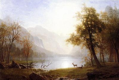 Bierstadt Albert Valley in Kings Canyon