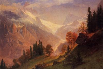 Bierstadt Albert View of the Grunewald