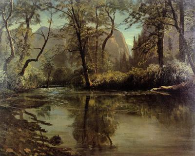 Bierstadt Albert Yosemite Valley California