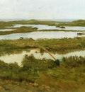 Bierstadt Albert A River Estuary