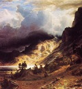 Bierstadt Albert A Storm in the Rocky Mountains Mr  Rosalie