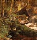 Bierstadt Albert Forest Stream
