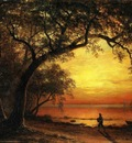 Bierstadt Albert Island of New Providence