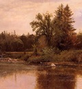 Bierstadt Albert Landscape New Hampshire