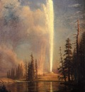 Bierstadt Albert Old Faithful