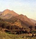 Bierstadt Albert Rocca de Secca