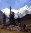 Bierstadt Albert Rocky Mountain