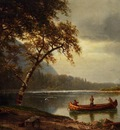 Bierstadt Albert Salmon Fishing on the Cascapediac River