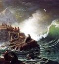 Bierstadt Albert Seals on the Rocks Farallon Islands