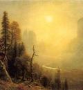 Bierstadt Albert Study for Yosemite Valley Glacier Point Trail