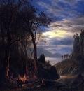 Bierstadt Albert The Campfire