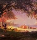 Bierstadt Albert The Landing of Columbus