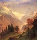 Bierstadt Albert View of the Grindelwald