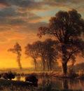 Bierstadt Albert Western Kansas