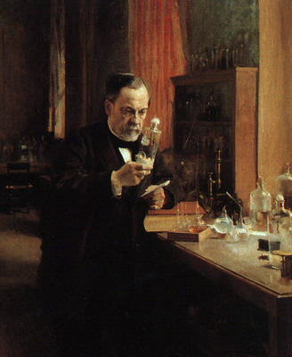Portrait of Louis Pasteur CGF