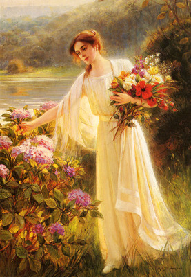 Lynch Albert Gathering Flowers