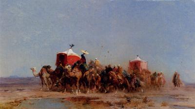 Pasini Alberto Caravan In The Desert