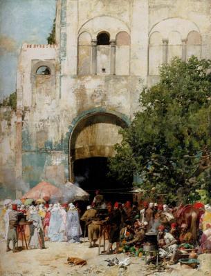 Pasini Alberto market Day Constantinople