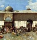 Pasini Alberto A Market Scene